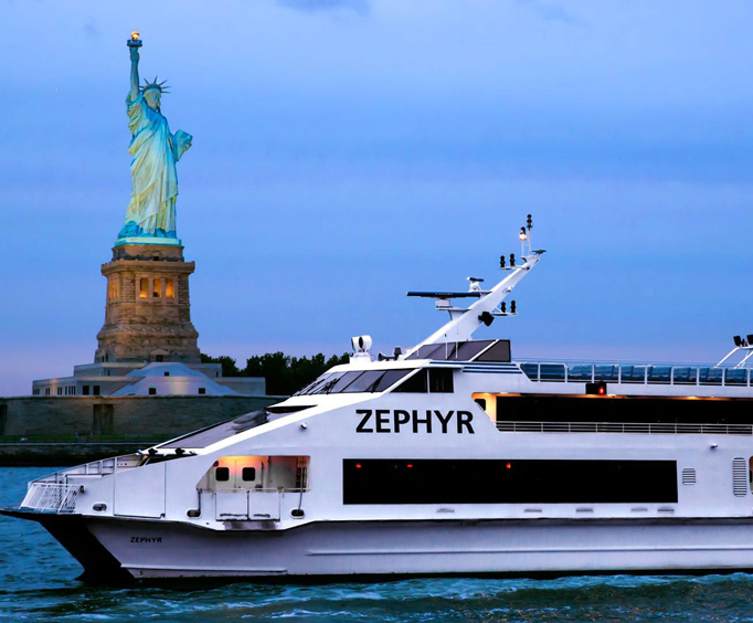 Circle Line Downtown ZEPHYR Seaport Liberty Cruise Photo