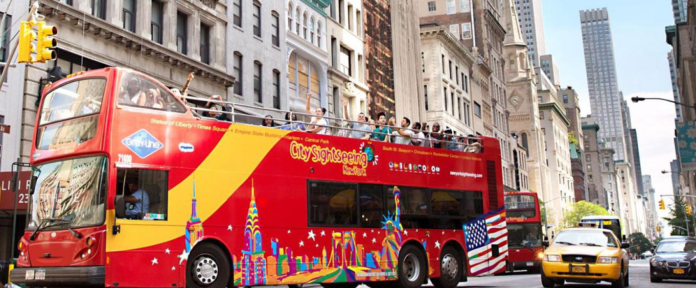 The Double Decker Tour Bus