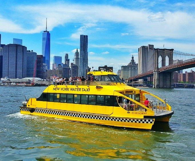 New York Water Taxi's 1-Day Hop-On/Hop-Off Pass Photo