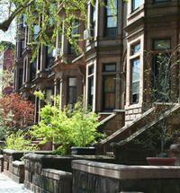 Stroll through beautiful Brooklyn streets and admire brownstone architecture