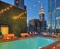 Outdoor Pool at Gansevoort Park Avenue Nyc