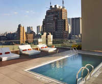 Outdoor Pool at The James New York