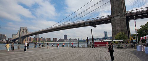 The Brooklyn Tour, Brooklyn bridge