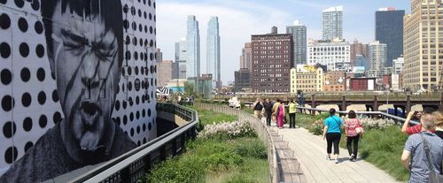 High Line Park Historical Walking Tour, sighteeing
