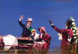 Voices of Christmas at The Sight & Sound Living Waters Theatre, Victorian christmas
