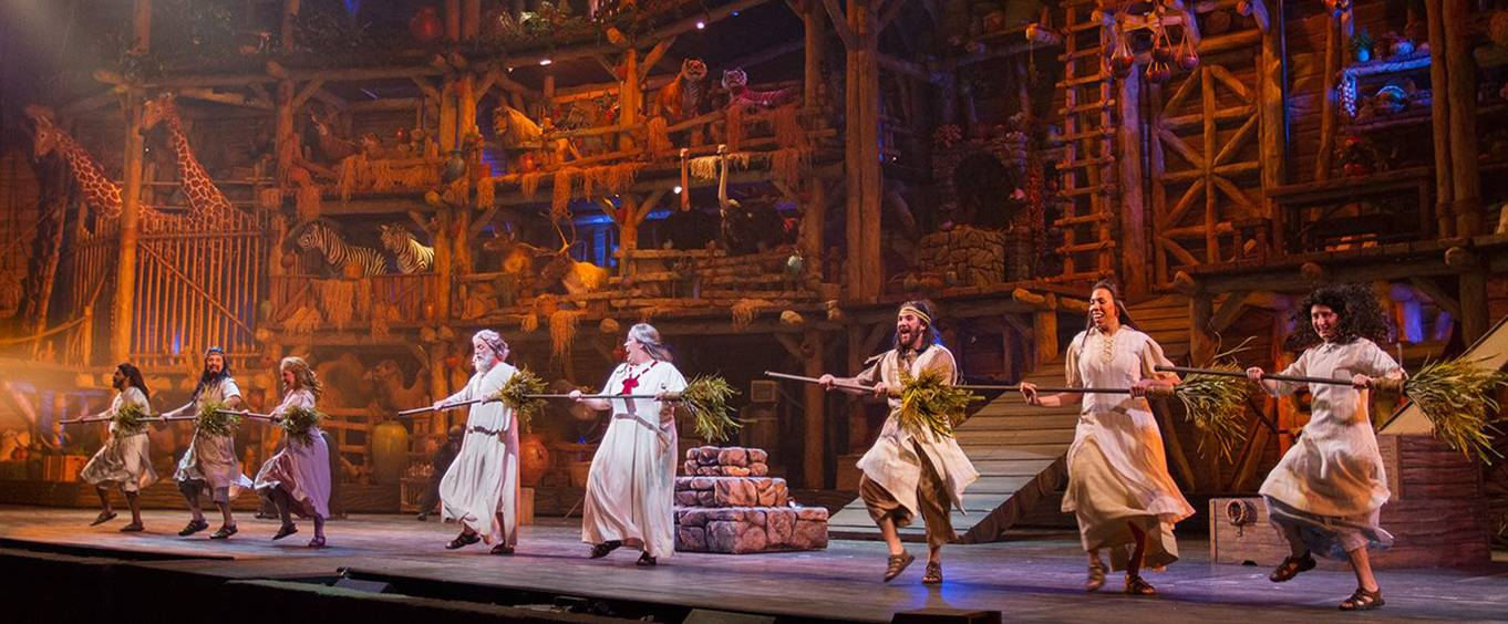 Sight And Sound Miracle Of Christmas.Noah The Musical At Sight Sound Millennium Theatre