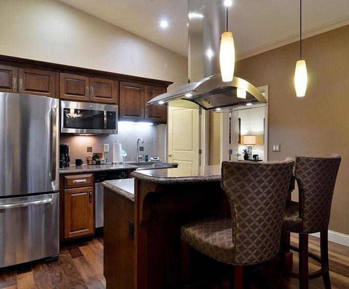 Hotel Rooms with Kitchen / Kitchenette