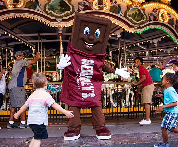 Hershey Park: A World of Chocolate Near Lancaster