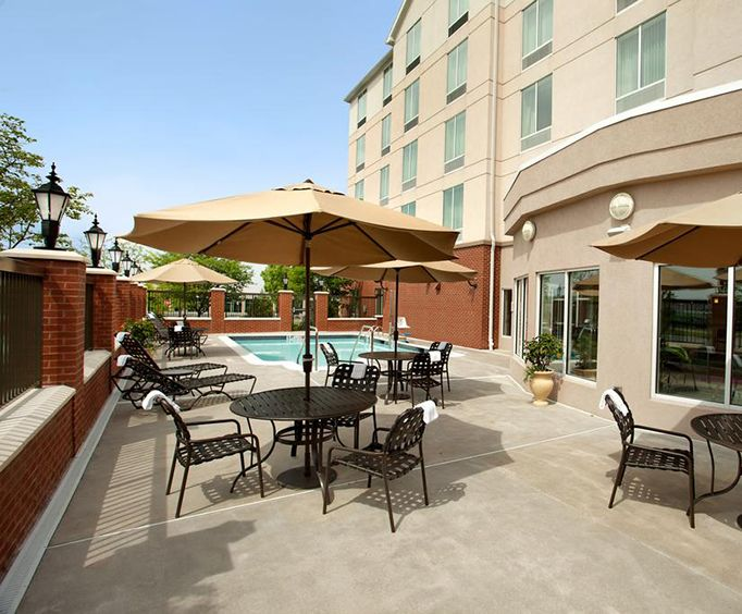 Outdoor Pool at Hilton Garden Inn Harrisburg East