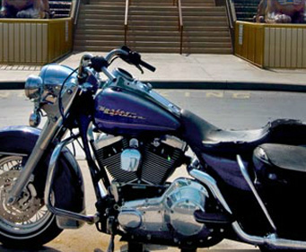 Hard Rock Cafe - Myrtle Beach, Motorcycle