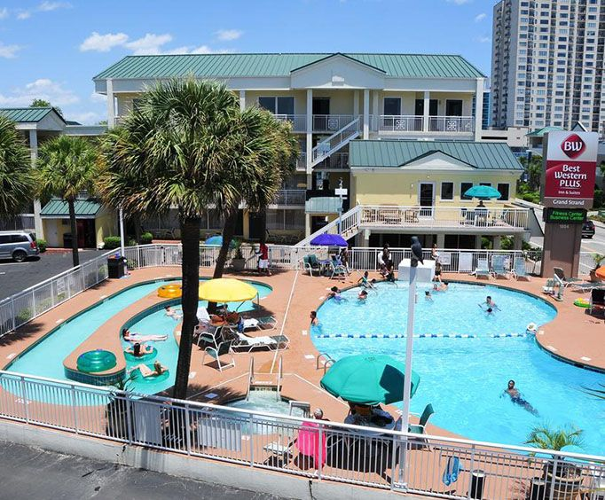 Outdoor Swimming Pool of Best Western Grand Strand Inn  Suites