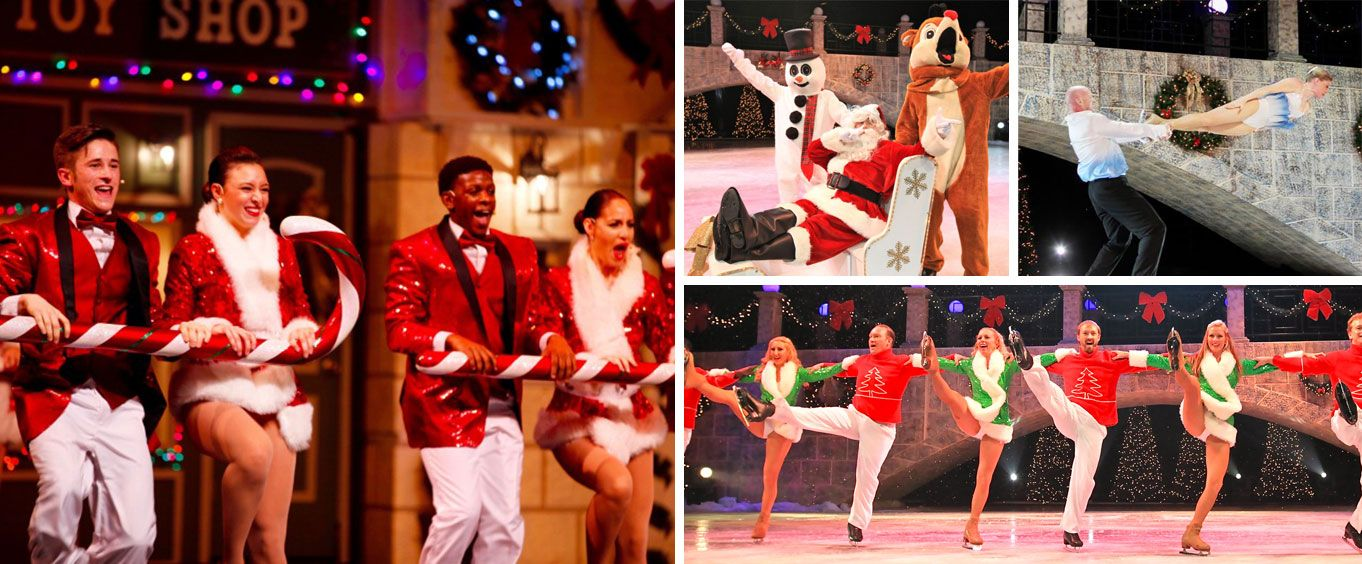 Christmas on Ice Collage