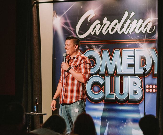 Comedian at the Carolina Comedy Club