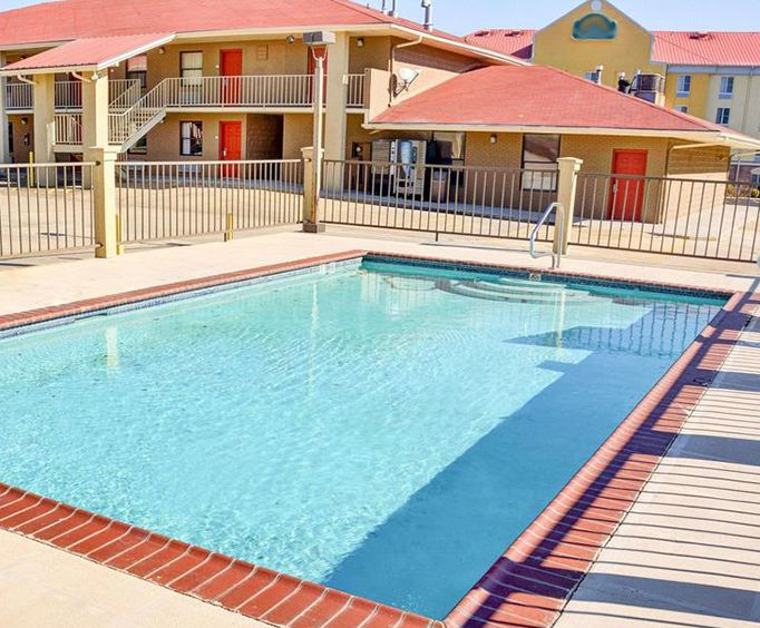 Outdoor Pool at Quality Inn  Suites Hot Springs