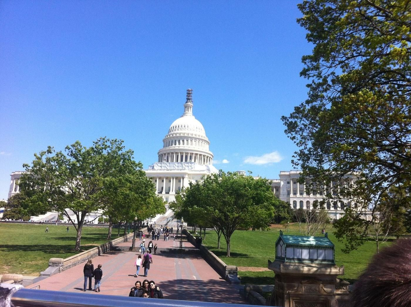 April 9 2012, sunny day in DC