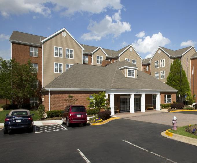 Exterior of Homewood Suites by Hilton Alexandria