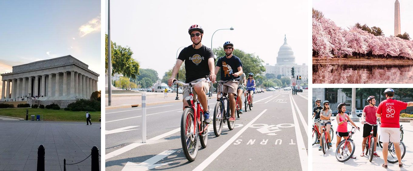 Washington DC seen from a Bike
