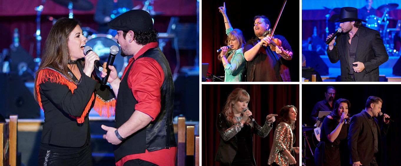 The Music Of Nashville: A Magical Journey Show Collage
