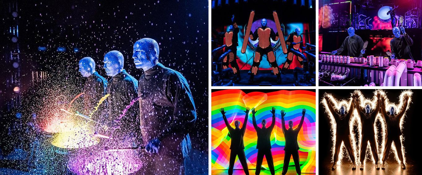 Experience Blue Man Group