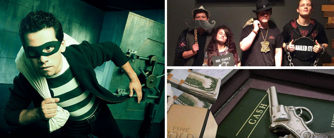 Bank Heist Escape Room in Chattanooga Collage