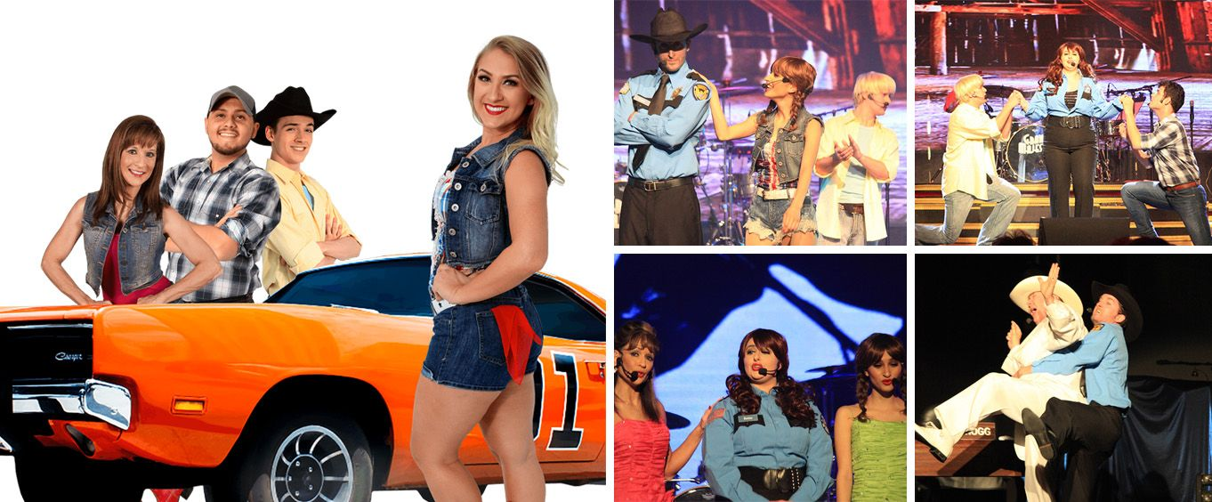 Hazzard Hoedown Show Collage