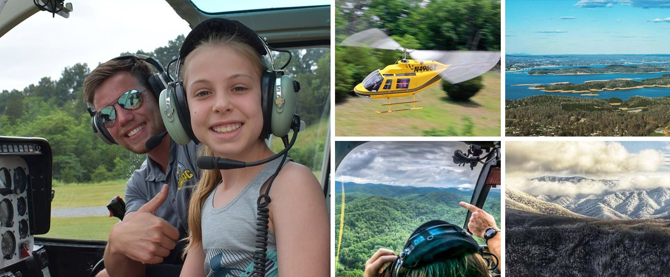Family Fun with Great Smoky Mountains Helicopter Tours