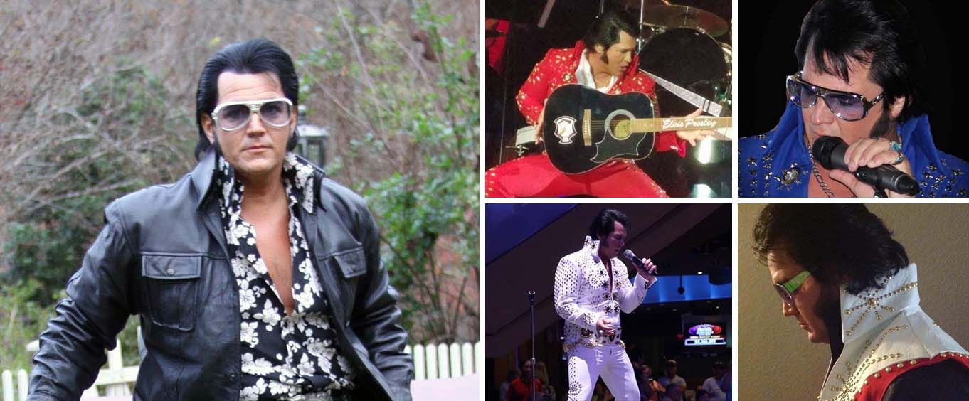 Elvis The King- A Tribute to Elvis Collage