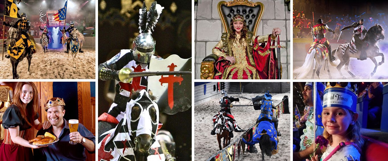 Medieval Times Myrtle Beach Collage