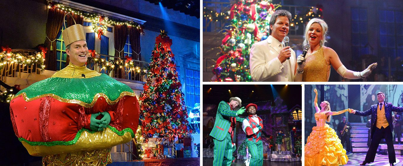 Christmas at One the Show at the Alabama Theatre Collage