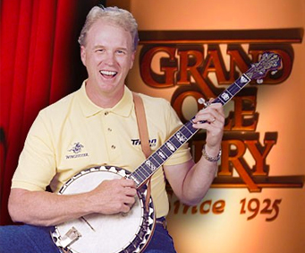 Mike Snider At Grand Ole Opry