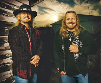 Van Zant At Grand Ole Opry