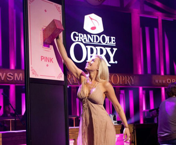 Opry Goes Pink At Grand Ole Opry